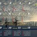 写真: 2012美瑛カレンダー