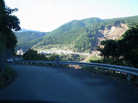 国道169号線・奈良県川上村の災害箇所‐3