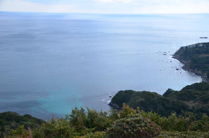 コバルトブルーに澄んだ伊勢の海