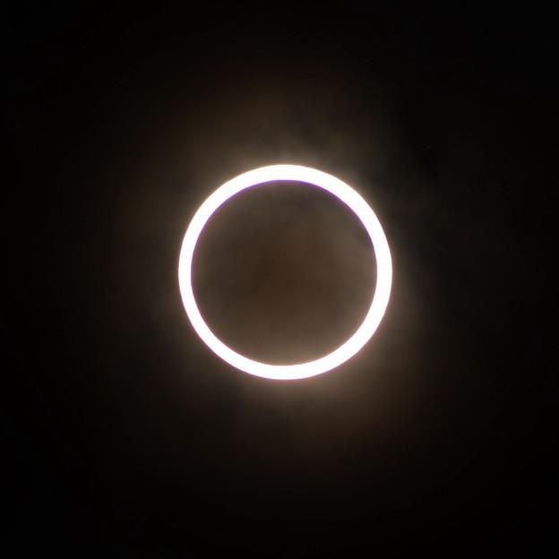写真: 金環日食02