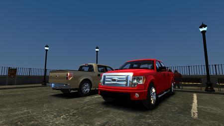 2012 Ford Loboフロント